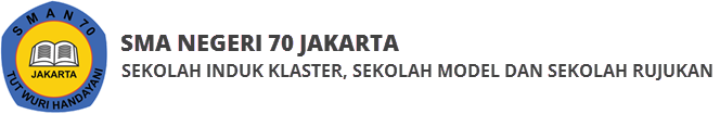 SMA Negeri 70 Jakarta Logo