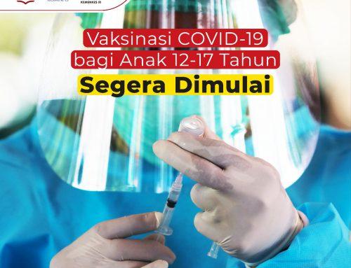 Peserta Didik SMAN 70 Jakarta Mendapatkan Vaksin Pertama